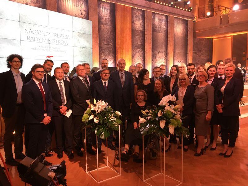Zespół UAM nagrodzony Nagrodą Prezesa Rady Ministrów
