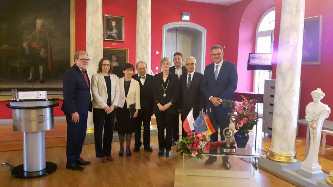 Uroczyste wręczenie Nagrody Pomerania Nostra prof. Annie Wolff-Powęskiej