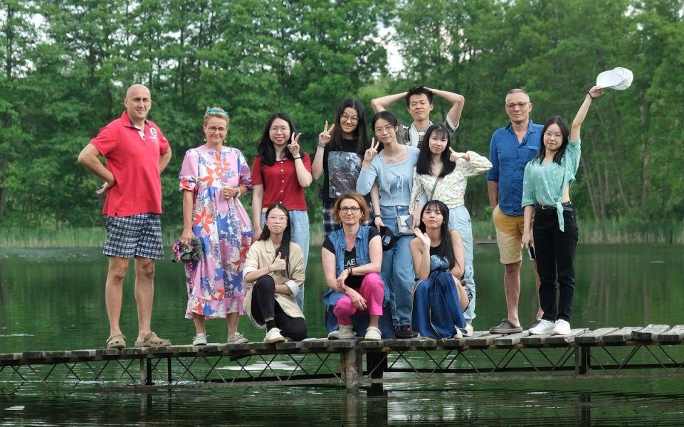 Studenci z Kantonu