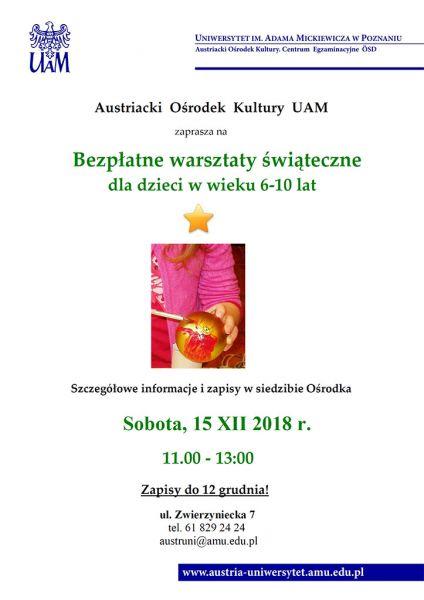 Plakat Austriacki ośrodek dla dzieci