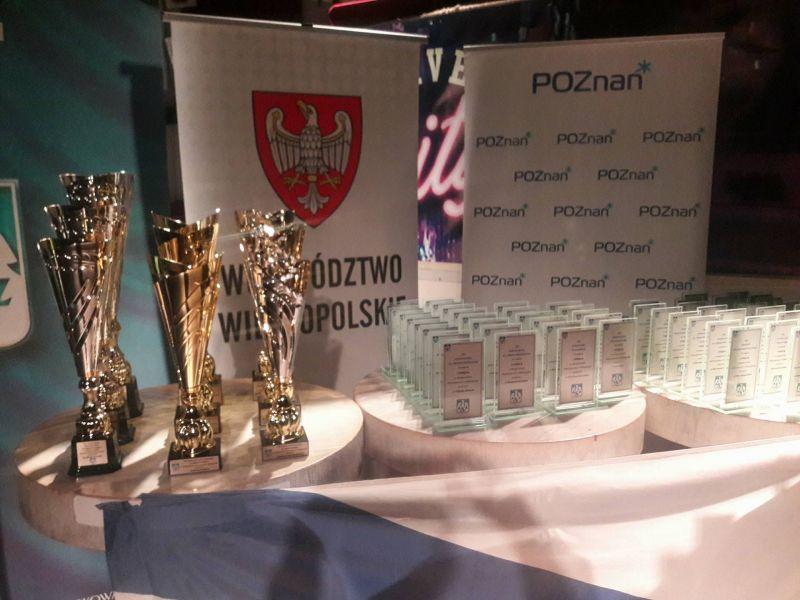 Akademickie Mistrzostwa Wielkopolski - statuetki dla nagrodzonych
