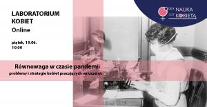 Laboratorium Kobiet Online - Równowaga w czasie pandemii