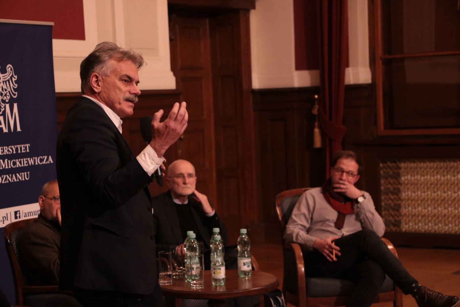 prof. dr hab. Przemysław Deszczyński z UEP