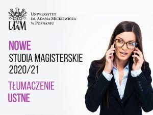 Nowe studia magisterskie na UAM - Tłumaczenie ustne