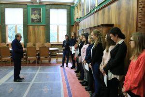 Studentki z grupy Volontario uhonorowane