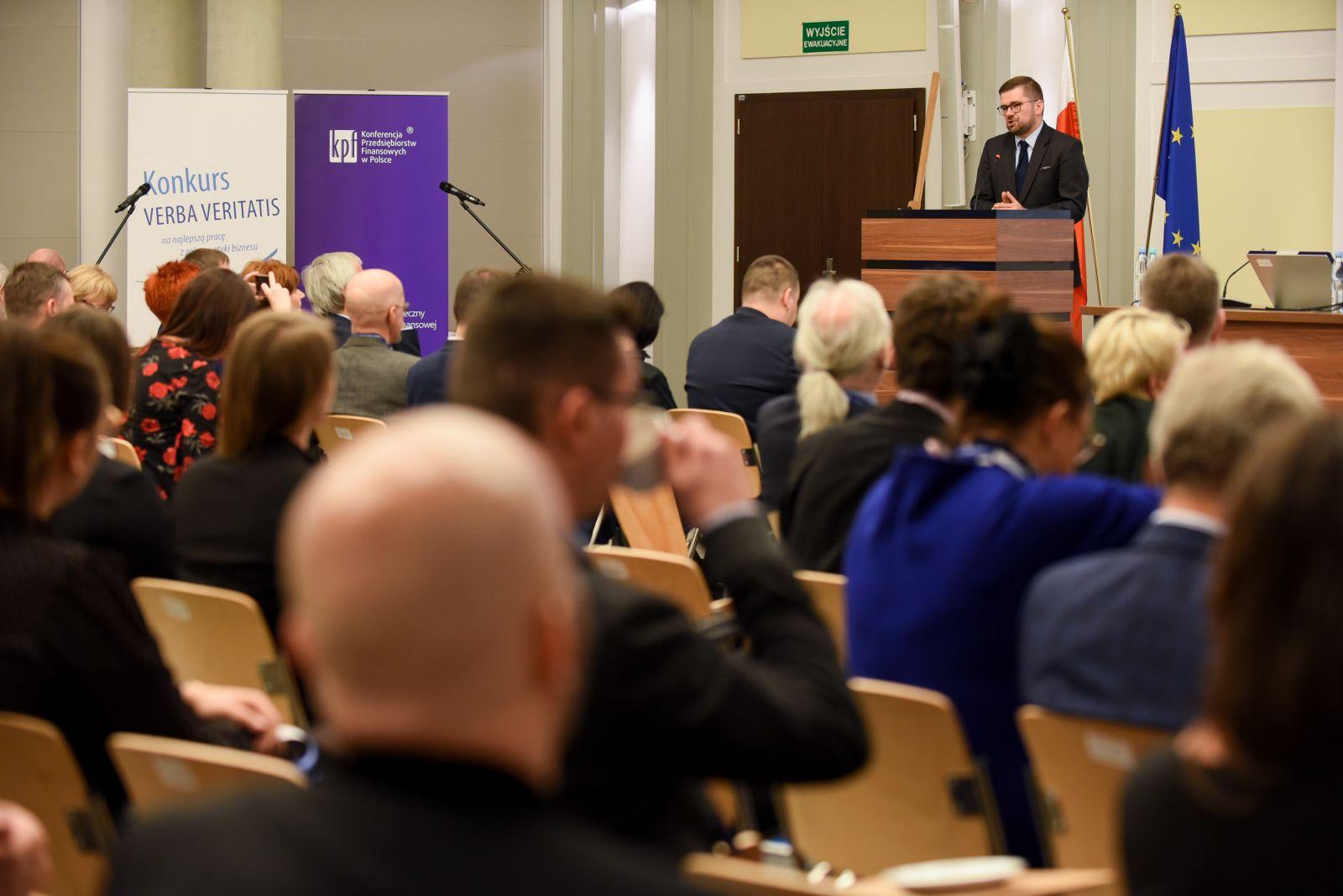Wystąpienie Pawła Chorążego, Podsekretarza Stanu w Ministerstwie Rozwoju
