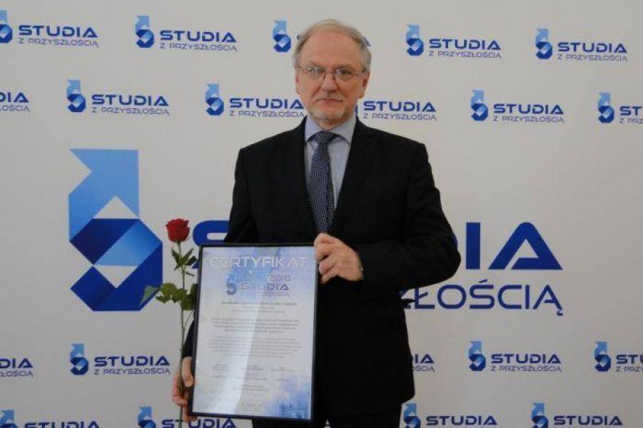 Certyfikat programu Studia z Przyszłością dla UAM