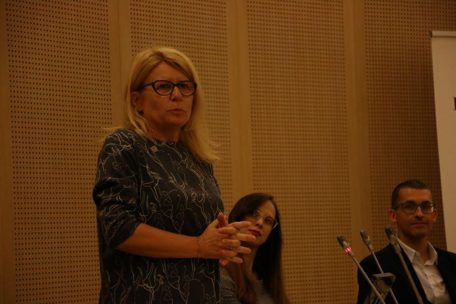 prof. Bogumiła Kaniewska, prorektor UAM