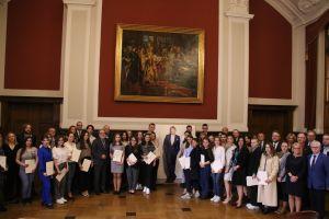 Stypendia im dr. Jana Kulczyka trafiły do studentów UAM z Ukrainy