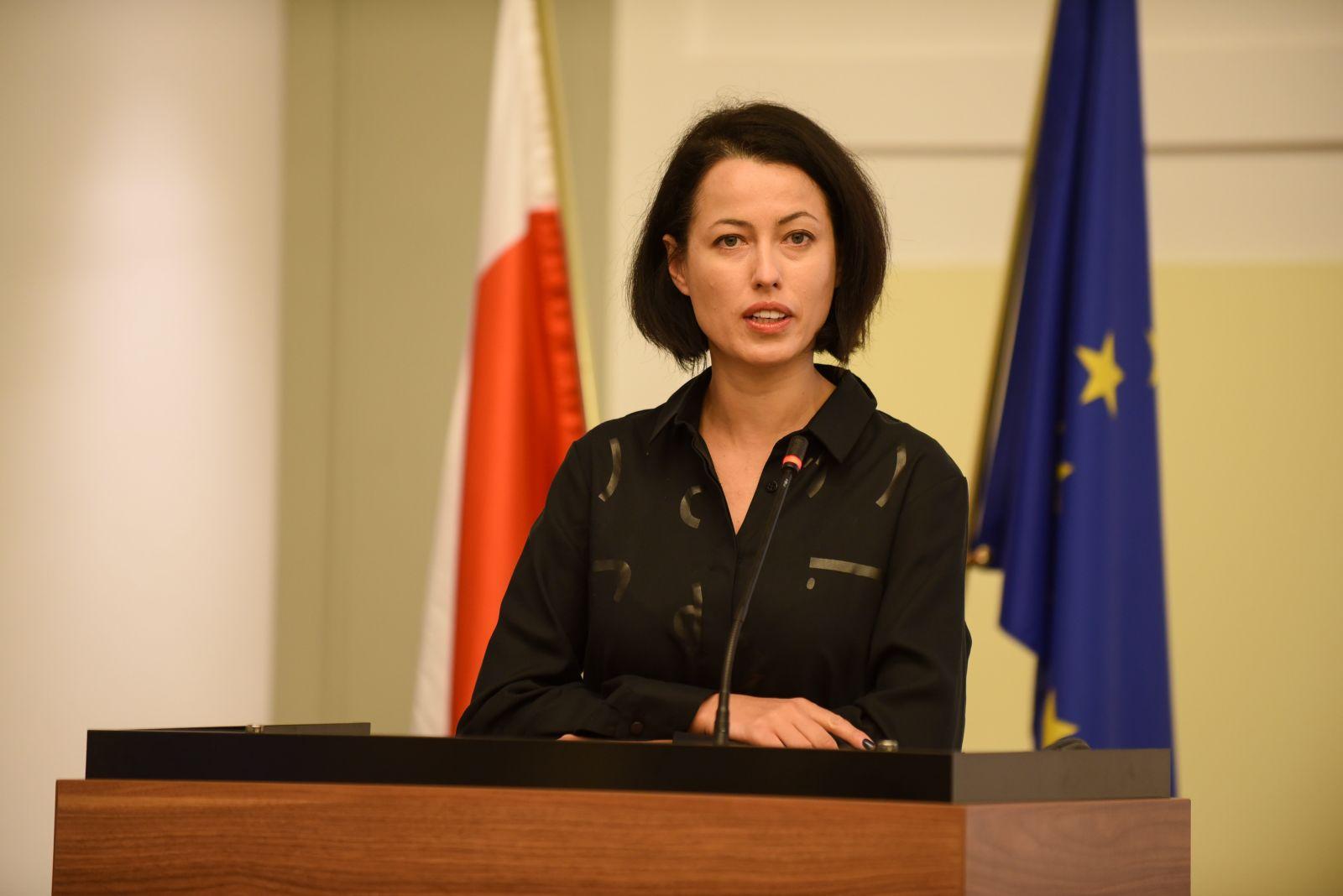 Wystąpienie dr Anny Budzanowskiej, Dyrektor Generalnej Ministerstwa Nauki i Szkolnictwa Wyższego