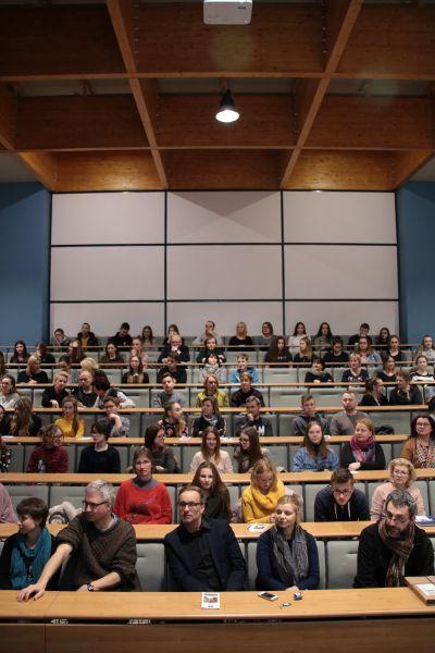 Spotkanie informacyjne w sprawie uruchomienia Uniwersyteckiego Liceum Ogólnokształcącego w Słubicach odbyło się w czwartek 15 marca 2018 r.