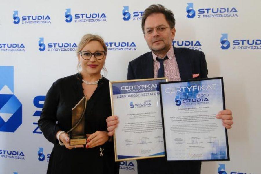 Certyfikaty programu Studia z Przyszłością dla UAM