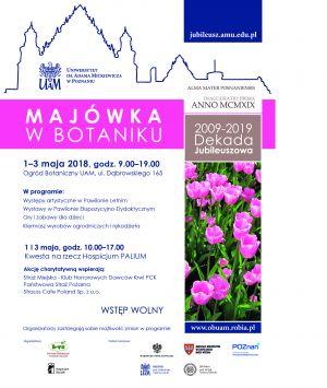 Majówka w Botaniku