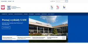 Strona internetowa UAM na II miejscu w rankingu uczelni pod kątem dostępności cyfrowej
