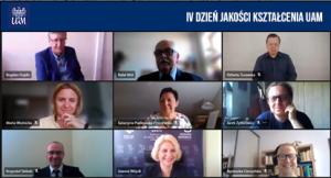 IV Dzień Jakości Kształcenia: Kształcenie zdalne na UAM – teraz i po pandemii