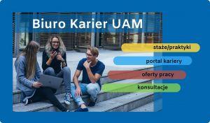 Startuj na rynku pracy z Biurem Karier UAM!