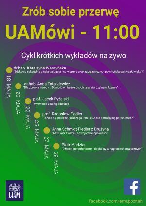 UAMówi - 11.00 w maju