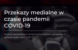 Newsy o pandemii pod okiem naukowców z UAM