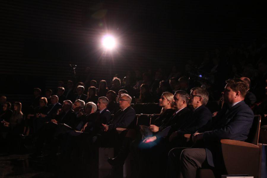 Goście obecni na Gali Wielkopolskiego Rankingu Liceów i Techników Perspektywy 2018