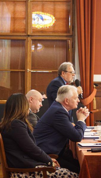 W spotkaniu wziął udział Wiceprezes Rady Ministrów Jarosław Gowin, Minister Nauki i Szkolnictwa Wyższego
