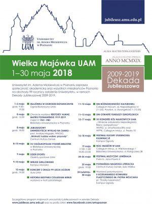 Wielka Majówka UAM 2018