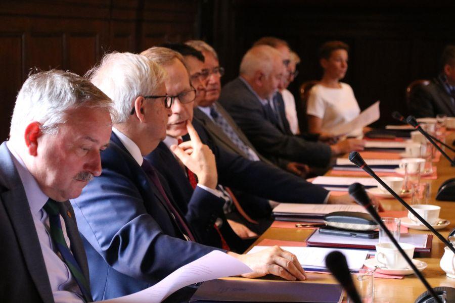 W spotkaniu udział wzięli rektorzy i przedstawiciele 40 uczelni z północno-zachodniej Polski