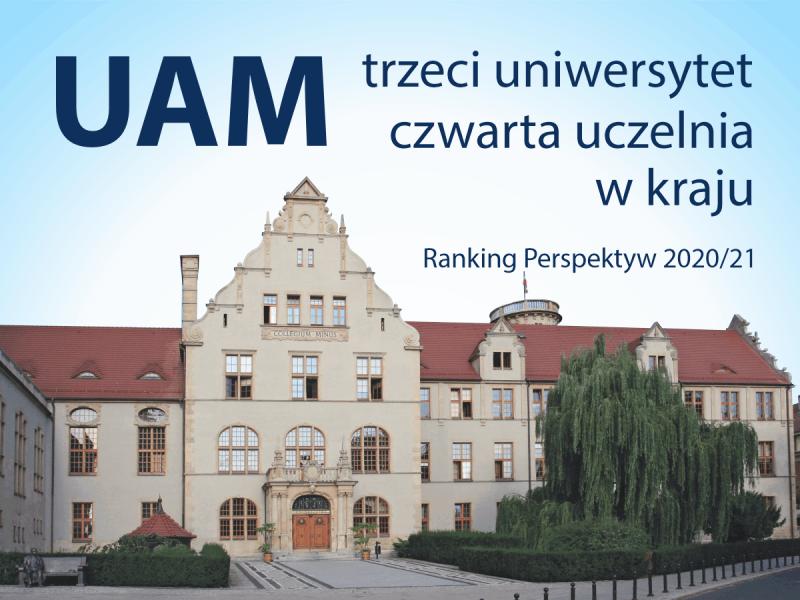 UAM trzecim uniwersytetem w kraju