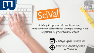 Zapisy na szkolenie SciVal - wsparcie w prowadzeniu badań