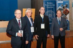 Prof. Adam Miranowicz z nagrodą im. Wojciecha Rubinowicza