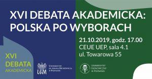 XVI Debata Akademicka