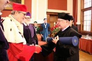 Doktorat honoris causa dla prof. Rolfa Fiegutha - fotorelacja