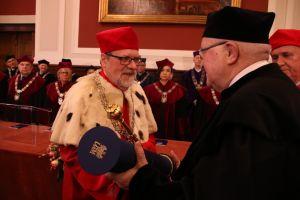 Prof. Janusz Jurczak Doktorem Honoris Causa UAM