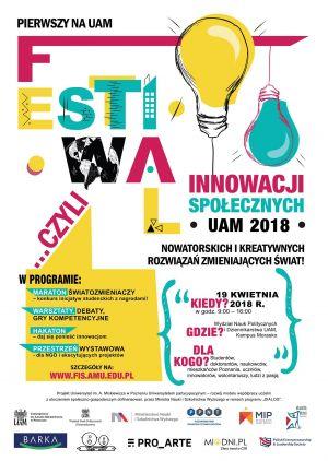 Pierwszy Festiwal Innowacji Społecznych na UAM!