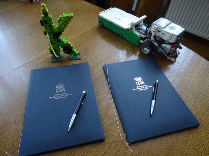 podpisanie umowy LEIS UAM w Poznaniu