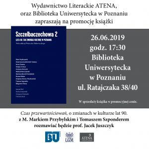 Zaproszenie na promocję książki