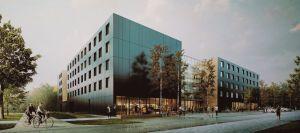 Akademik UAM powstaje na Morasku