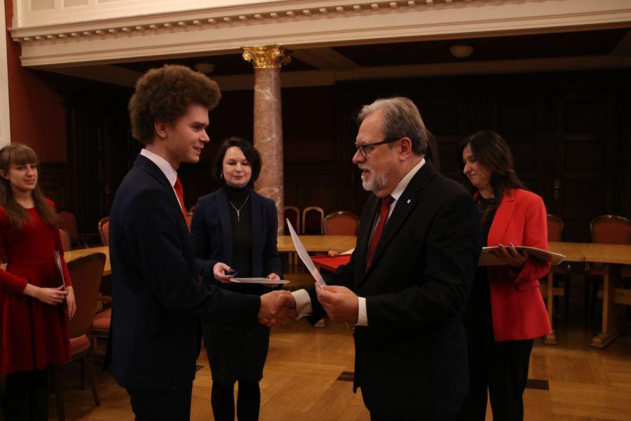 Uroczyste wręczenie nagród laureatom konkursu BESTStudentGRANT