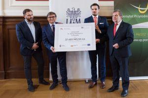 Miliony z ministerstwa dla poznańskich uczelni