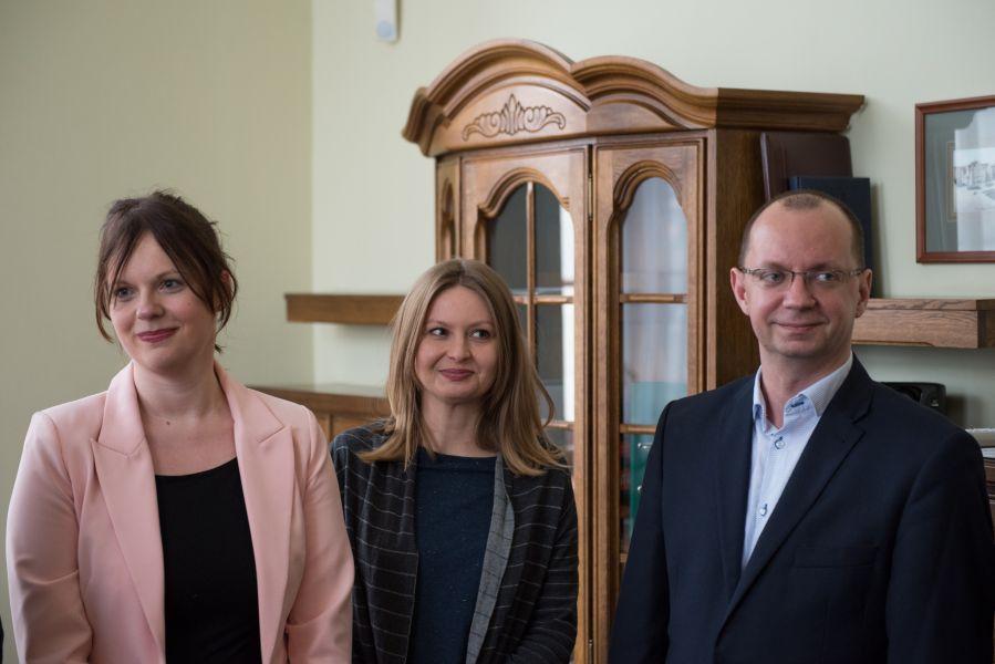 Spotkanie z przedstawicielami firmy Mobica, z którą UAM podpisał umowę o współpracy