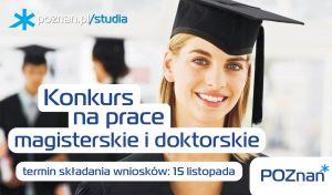 Konkurs na najlepsze prace magisterskie i doktorskie