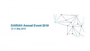 DARIAH Annual Event 2019 w Warszawie