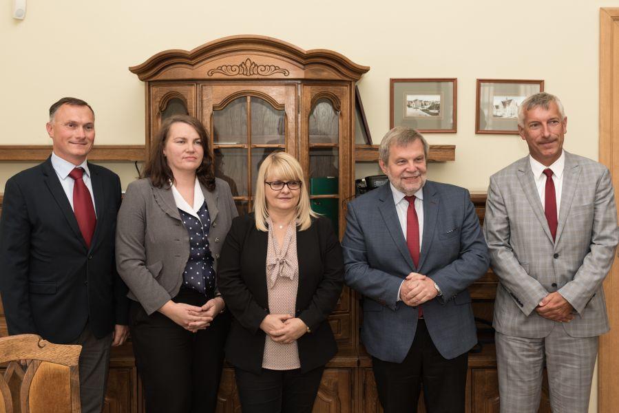Podpisanie porozumienia między UAM a Regionalnym Zarządem Gospodarki Wodnej w Poznaniu