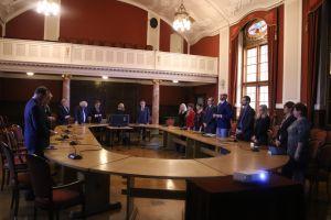 Spotkanie wielkopolskich parlamentarzystów z władzami rektorskimi UAM