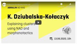 Wykład prorektorki UAM, prof. dr hab. Katarzyny Dziubalskiej-Kołaczyk, na zaproszenie  Brazylijskiego Stowarzyszenia Językoznawczego
