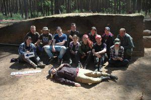 Archeologowie z UAM prowadzą prace badawcze w Mirosławiu