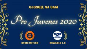 Zagłosuj na UAM! #ProJuvenes2020