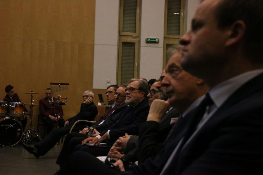 JM Rektor prof. UAM dr hab. Andrzej Lesicki podczas uroczystości