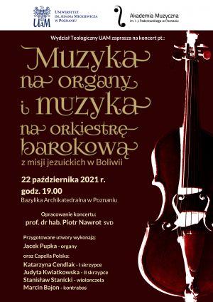 Muzyka z misji:  jesienny koncert muzyki baroku