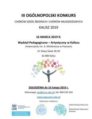 Ogólnopolski Konkurs Chórów Szkół Średnich i Chórów Młodzieżowych na UAM
