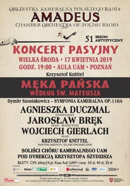 Koncert Pasyjny 2019